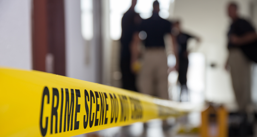 Wife strangled her husband with a pot threw the dead body in the street became unknown
