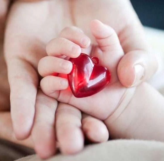 बच्चे के दिल में है छेद